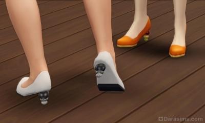 Туфли на каблуках из карьеры законодателя стиля