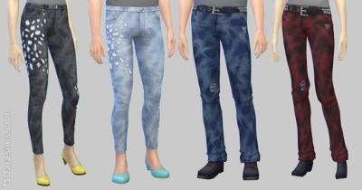 Новые джинсы из рабочей одежды законодателя стиля