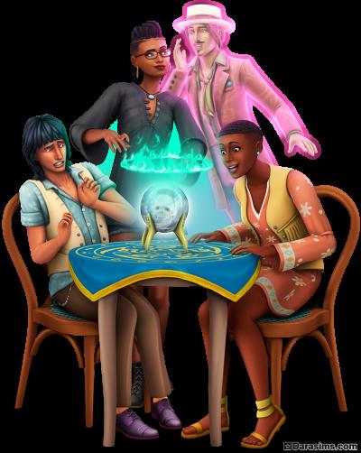 Рендер для каталога в «The Sims 4 Паранормальное»