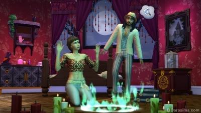 Спиритический сеанс в каталоге The Sims 4 Паранормальное