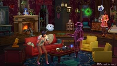 Дом с приведениями в каталоге The Sims 4 Паранормальное