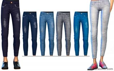 джинсы из каталога симс 4 вечер боулинга