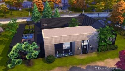 Платформы и плоские крыши в Симс 4