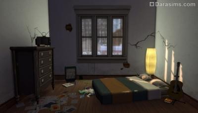 Платформы при оформлении спальни в Симс 4