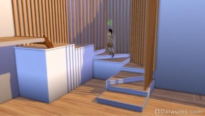 Идеи использования платформ для винтовой лестницы в Симс 4