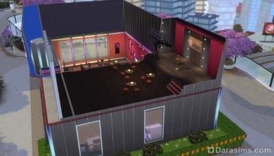 Платформы при строительстве сцены в Симс 4