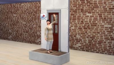 Платформы и двери в Симс 4