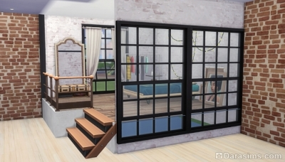 Платформы и окна в Симс 4