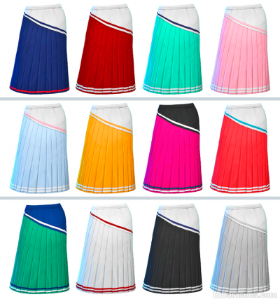 Спортивные юбки в Симс 4 Наряды из прошлого