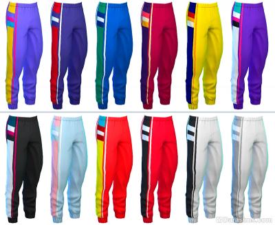 Спортивные штаны в Симс 4 Наряды из прошлого