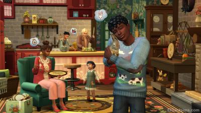 В гостях у фермера в дополнении «The Sims 4 Загородная жизнь»