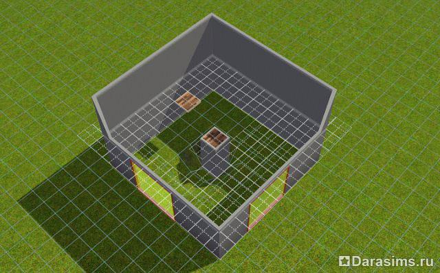 Симс 4 как сделать второй этаж