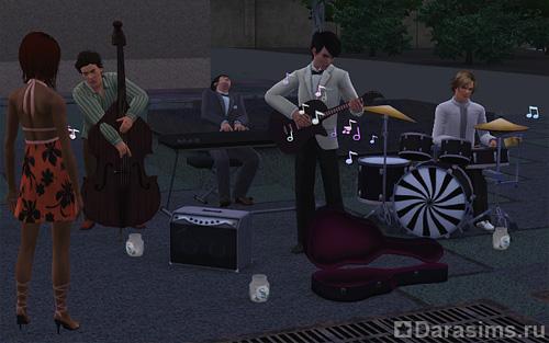 Как репетировать с группой в симс