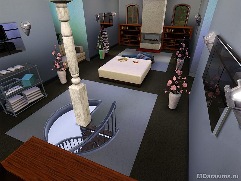 """Строительство чердака в Симс 3 """" DaraSims.com Вселенная игры the Sims!"""