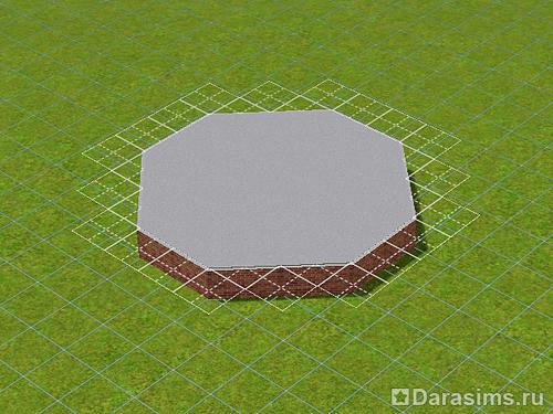 Как сделать плитку треугольной