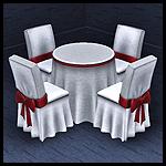 Торжественная столовая мебель