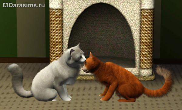 Как в симс 3 кошку и кота сделать парой 180