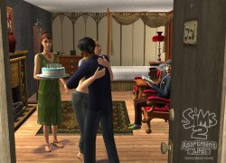 Sims 2 Apartment Life (���� 2 ������� � ��������)