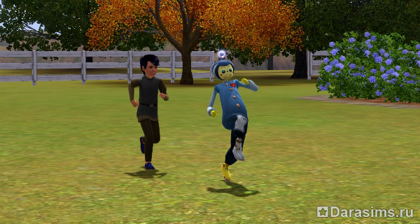 """Воображаемый друг в """"Симс 3: Все возрасты"""" """" DaraSims.com Вселенная игры the Sims!"""