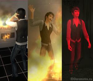 21 вид смерти, призраки и воскрешение в Симс2