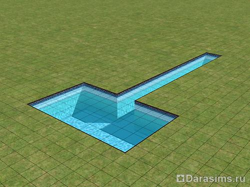 Как симс 3 сделать круглый бассейн
