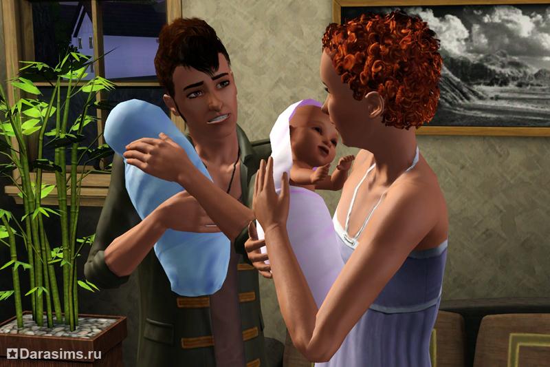 Как сделать чтобы в симс 3 родилась двойня