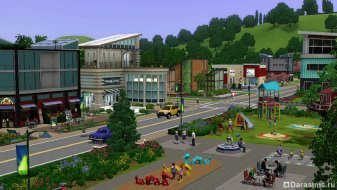 ���� 3 ��������� ����� (The Sims 3 Town Life Stuff)
