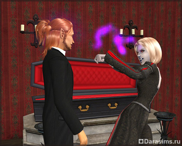Симс 2 вампиризм