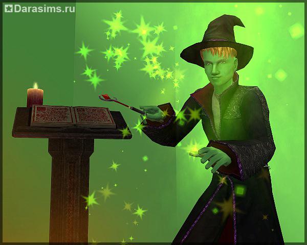 Как сделать сима ведьмой в симс 2
