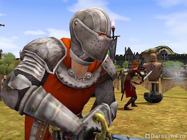 sims medieval ловить рыбу