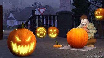 Хеллоуин в The Sims 3 Seasons