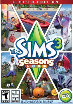 Обложка The Sims 3 Seasons