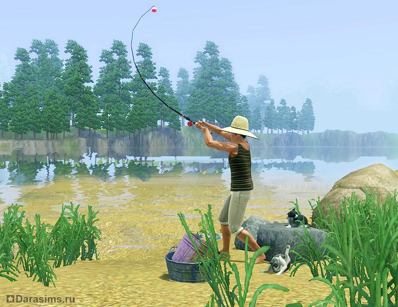 sims для рыбалки