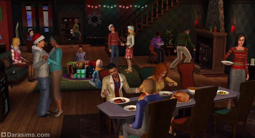 Как сделать вечеринку в симс 4