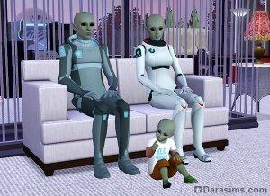 Пришельцы, инопланетяне и НЛО в «Симс 3 Времена года»