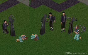 ���� ������ � �������� � The Sims