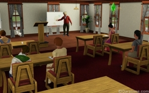 ����� � �The Sims 3 University Life�: ����������� �� ��������� �������