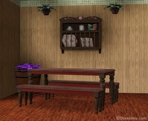 ����� ������ � ������� � The Sims 3 Store