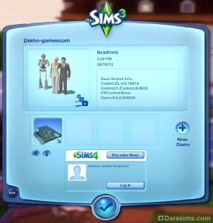 ���������������� ����� � ������ ������������ �The Sims 3 Into the Future�