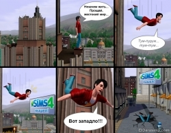 [The Sims 3] Симс 4 вышел!