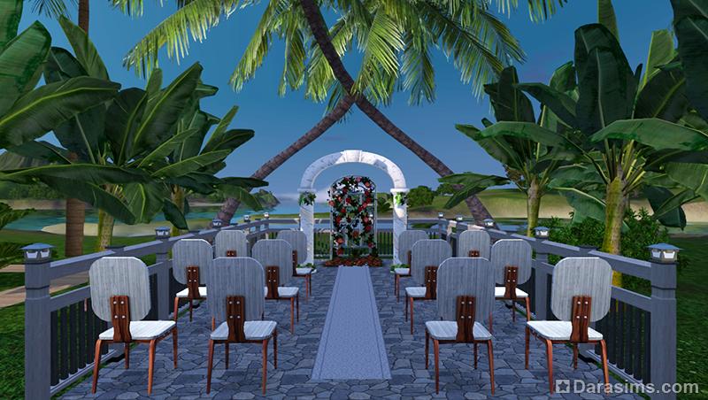 Где взять свадебную арку в симс 3