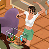 ������� � ������� ����� � The Sims