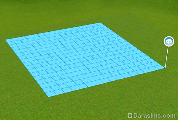 Как в симс 3 сделать круглый бассейн - 8d