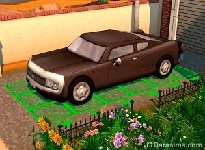 Создание автомобиля и гаража для симов в Симс 4 1417853621_11