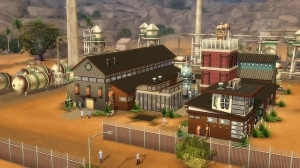 ������� � ������ � The Sims 4 Get to Work