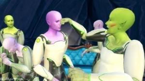 Инопланетяне в Симс 4