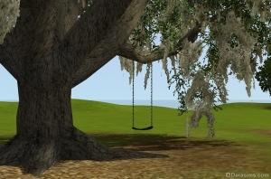 Качели на дереве