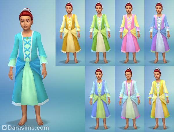 Симс 4 платья огня