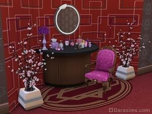 косметический столик sims 4