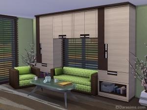 мебель для гостиной в sims 4